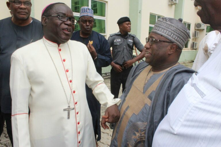 Presidency Reacts to a Muslim Group's Quit Notice to Bishop Kukah