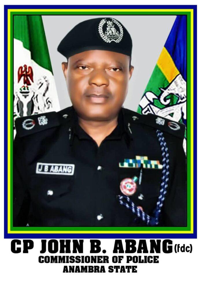 CP John B. Abang of Anambra Police