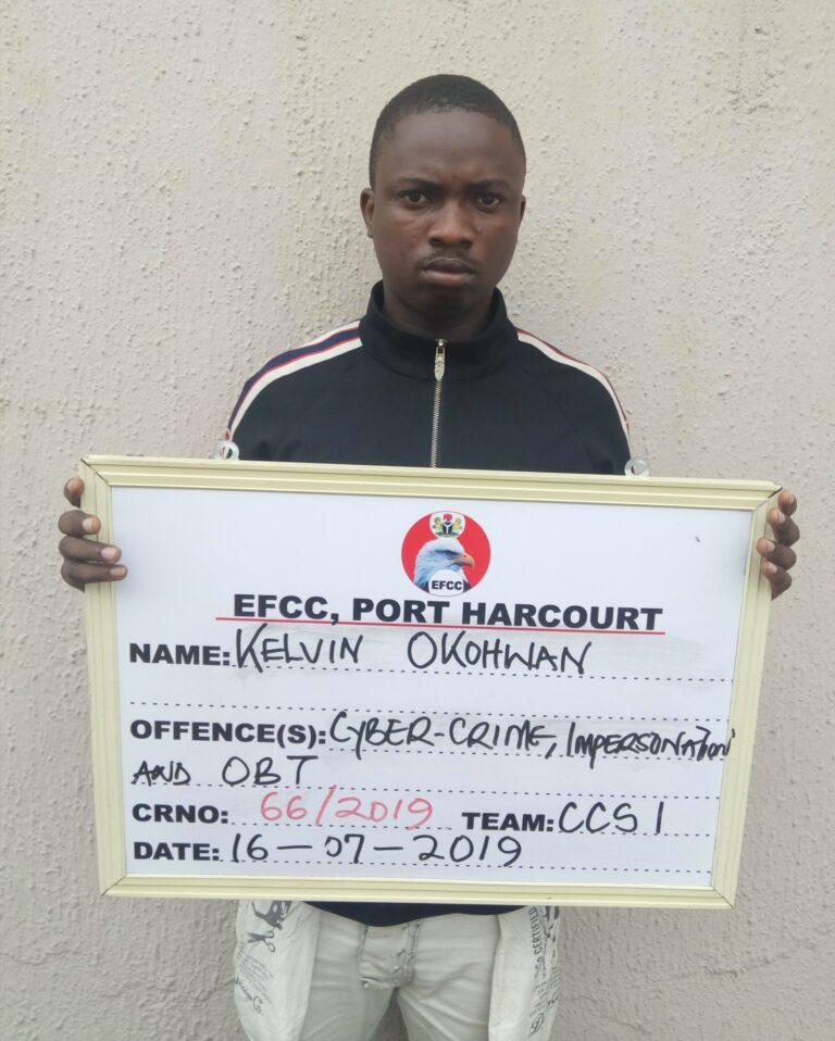 Finally, EFCC Nabs Notorious FaceBook Hacker in Warri