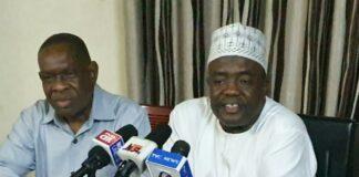 RIPAN President Abubakar Maifata and Deputy Paul Eluhaiwe