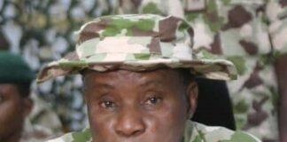 Defence Minister General Magashi