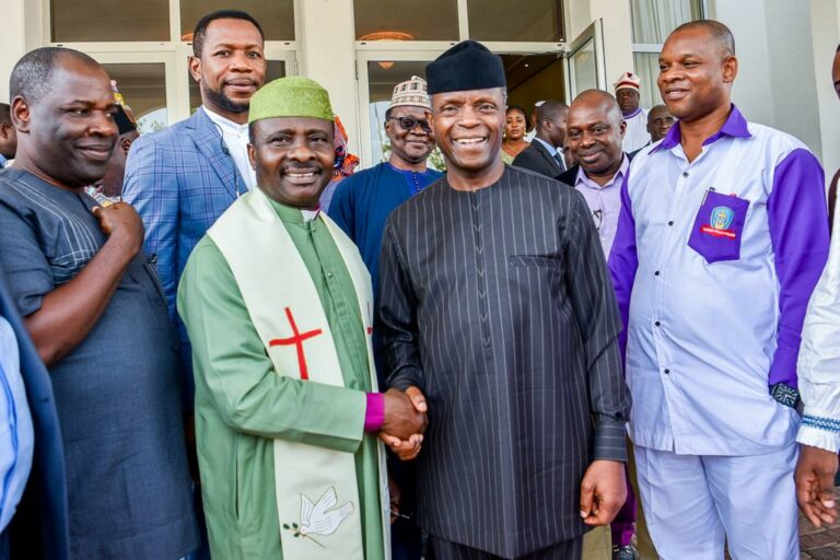 Osinbajo Meets CAN, Restates Loyalty to Almighty God