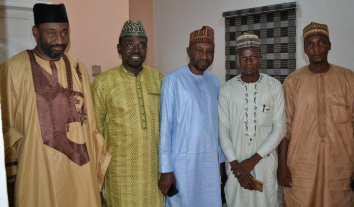 Alh Ismail Sani, Yushau Shuaib, Sule Yau Sule, Sani I Paki and Mr Aminu Hamza