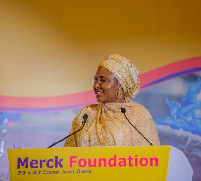 Aisha Buhari Attends Merck Africa – Asia Conference in Ghana