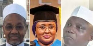 Mamman Daura, Aisha Buhari, Garba Shehu