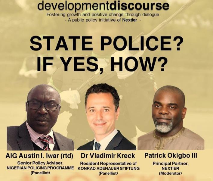 Amotekun: Nextier, Experts Mull State Policing in Nigeria