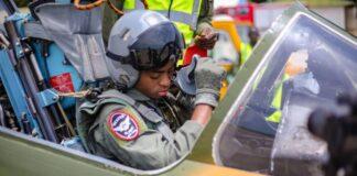 Archive: NAF Fighter Pilot Prepares for Action