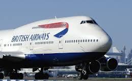 British Airways BA Boeing 747