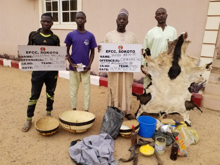 Father, Two Sons Nabbed for Spiritual Fraud in Sokoto