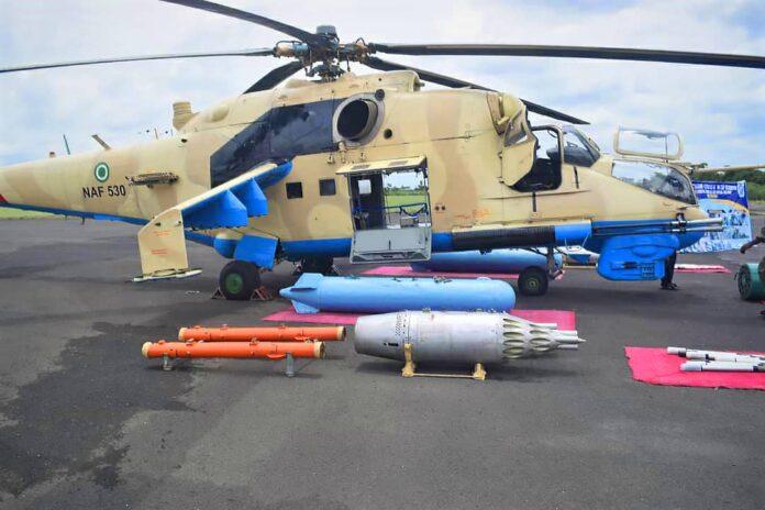 NAF Helicopter MI-35P