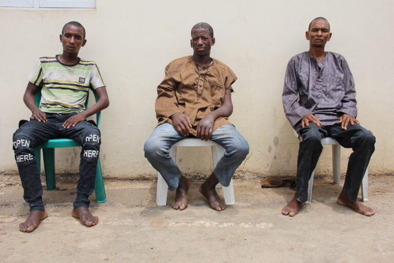 PHOTO: Nabbed Killers of Seminarian, Housewife after Collecting Ransom in Kaduna