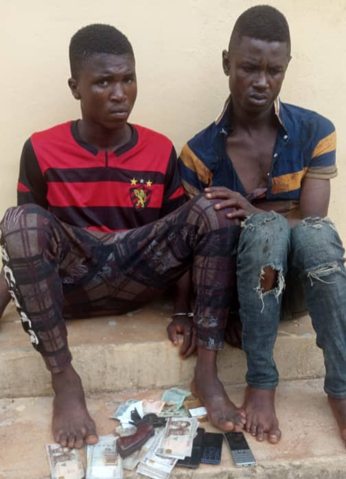 PHOTO: Police Nab Teenagers for Armed Robbery in Anambra