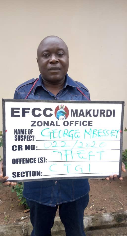 EFCC Nabs Vigilante Commandant for Alleged N449.5m Fraud in Benue