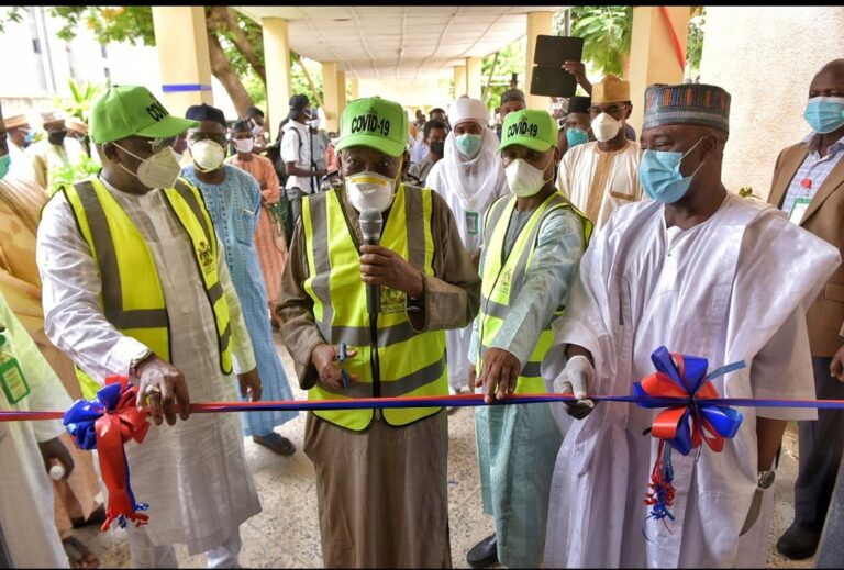 COVID-19: CACOVID Provides 66 Beds Remodeled Isolation Center in Kano