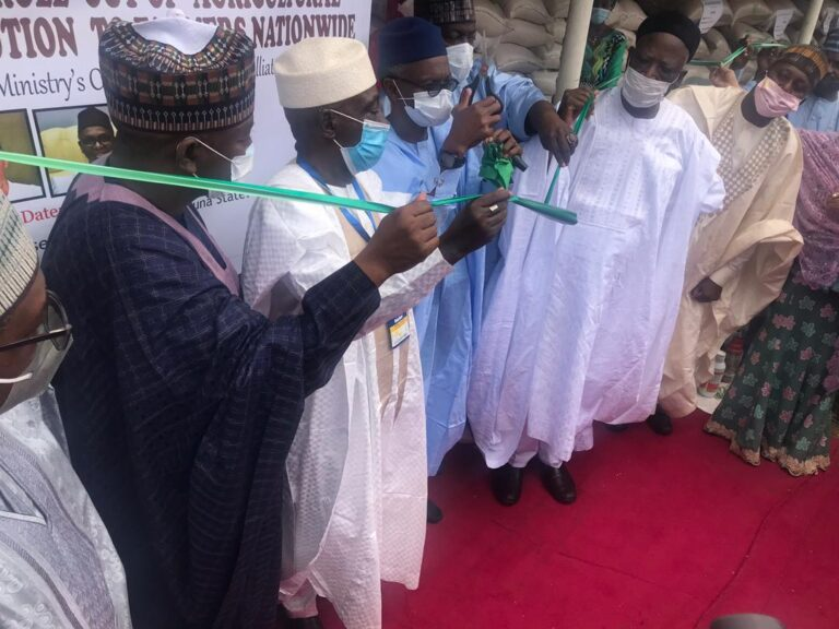 COVID – 19: FG launches Distribution of Agricultural Outputs to Avert Food Scarcity