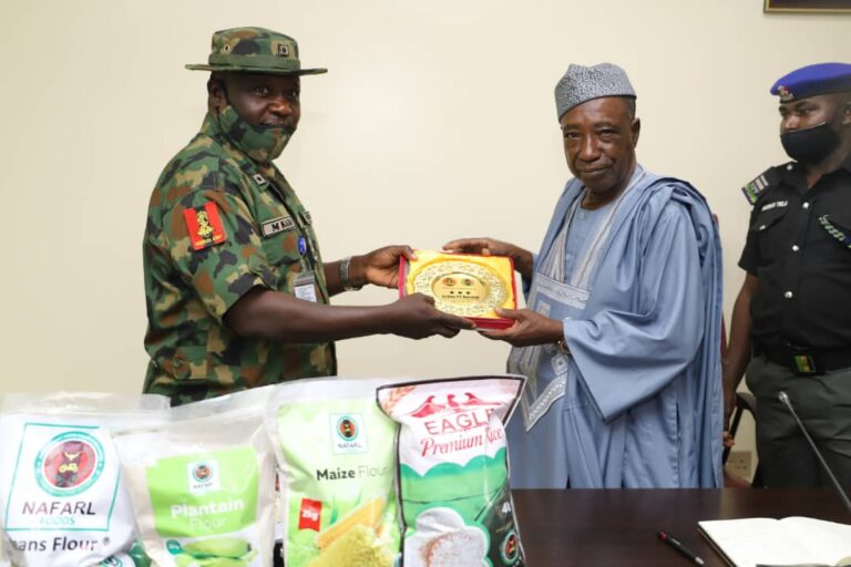 Nigeria Army Calls for FG's Support on Food Security