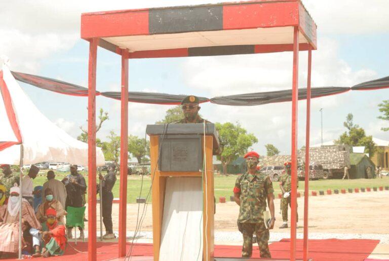 Anti-Banditry: CDS Visits Troops on Exercise Sahel Sanity in Katsina