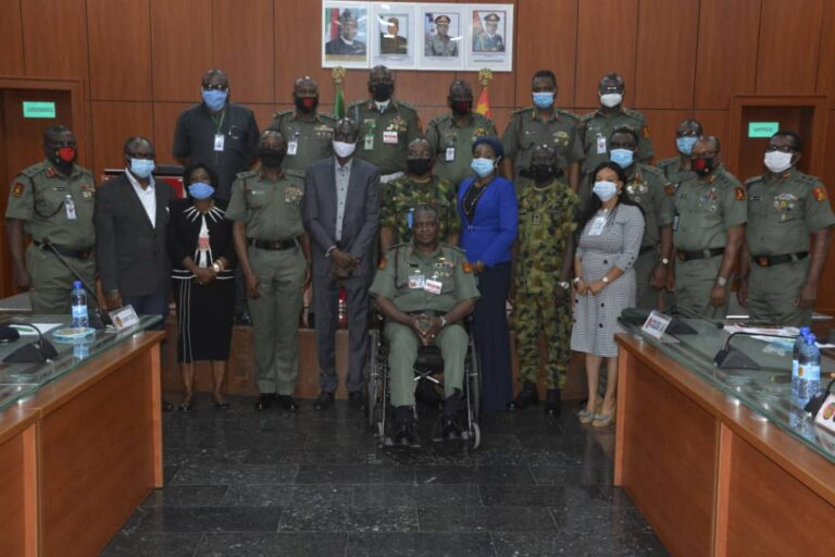 Nigerian Army, DICON Set to Produce Military Hardware, Defence Equipment