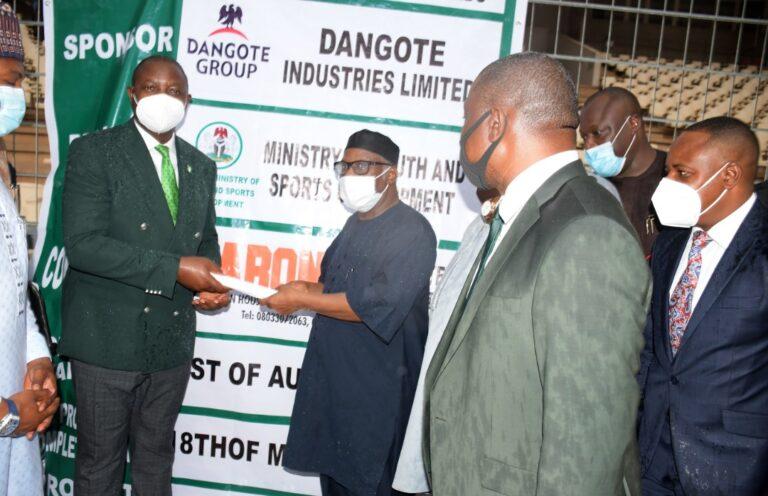 Dangote Group Commences $1m-Worth to Rehabilitate Moshood Abiola Stadium