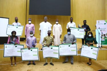 Nigeria at 60 Branding Competition winners