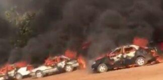 Car Burnt