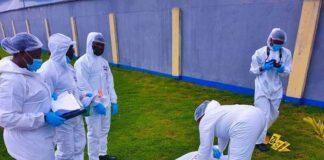 NAF Provosts at Forensic Training