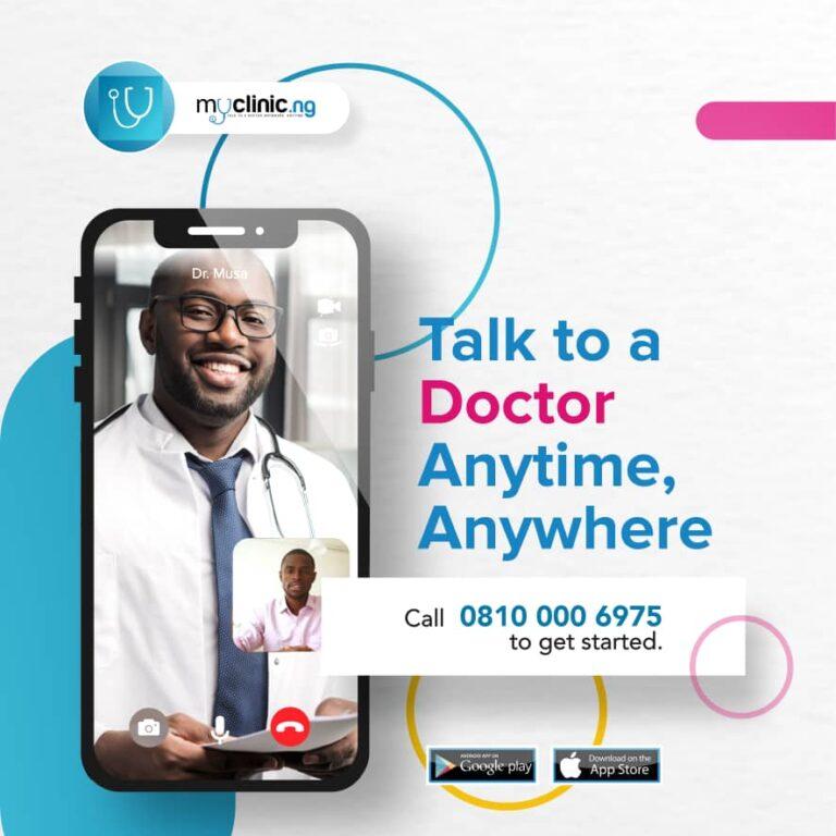 Nigerian Technopreneurs Launch Myclinic.ng Mobile App for Medical Consultation