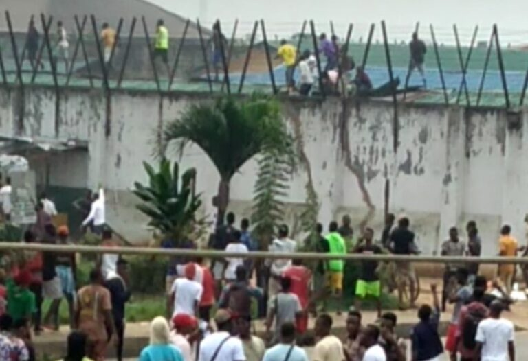 Police Nab Prison Inmates who Escaped from Custody During EndSARS Protests