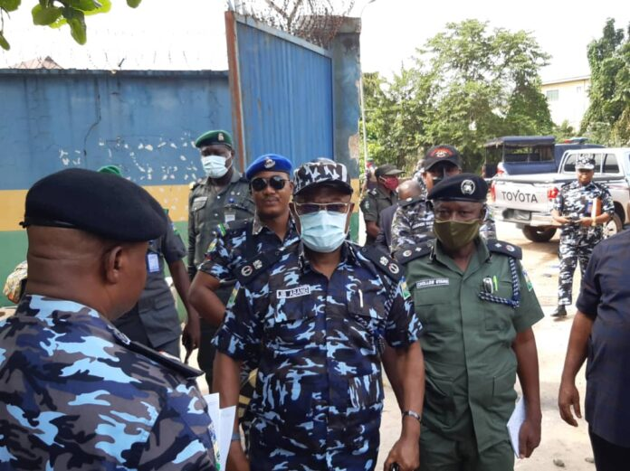 Commissioner of Police,CP John B.Abang,fdc