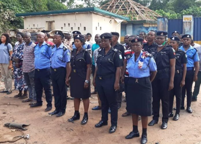 Police Men and Women