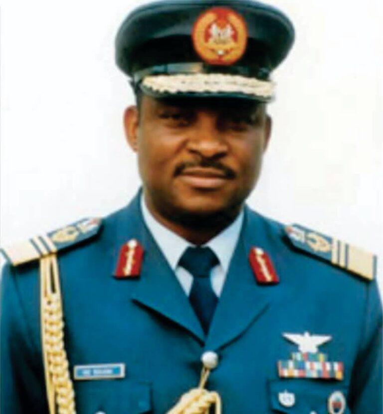 NAF Mourns Air Marshal Nsikak Eduok, Former Chief of Air Staff