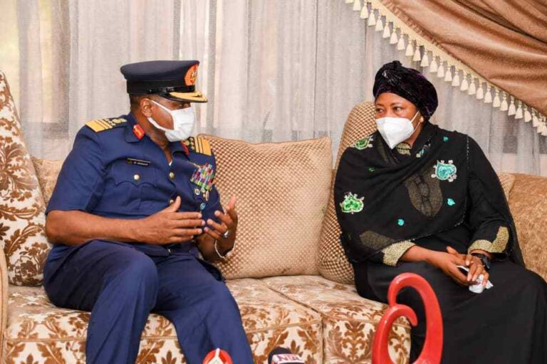 NAF Chief Pays Condolence Visit to Family of Late Air Marshal Nsikak Eduok