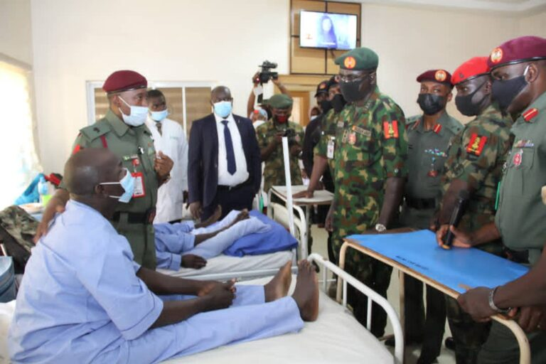 Wounded Soldiers Reveal Medical Treatment at Army Hospital