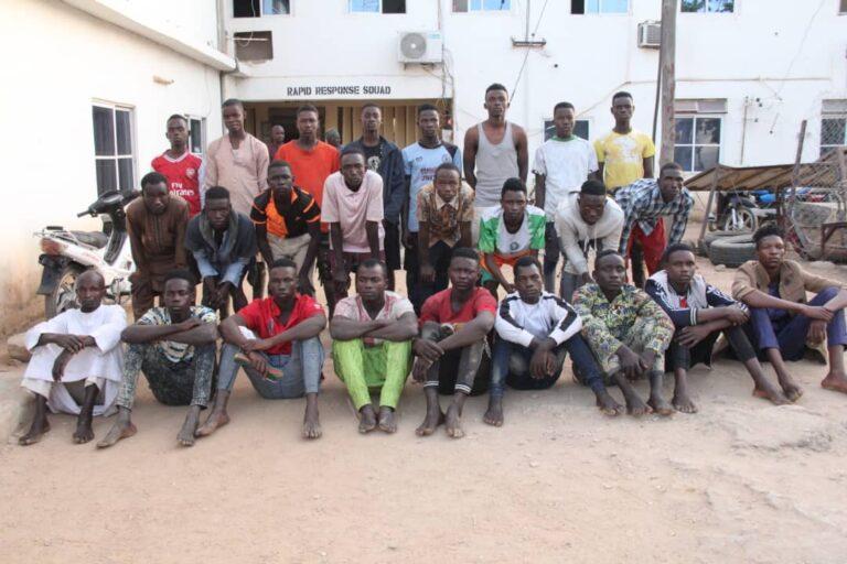 Police Raid Blackspot, Nab 25 Young Suspects in Bauchi