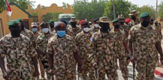 Service Chiefs in Borno