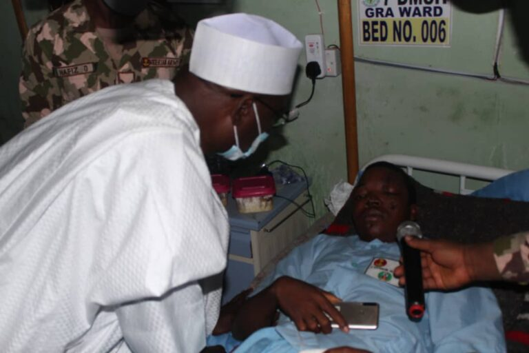 Wounded Soldiers Recount Recent Encounters with Boko Haram Fighters, Ready to Return to Battlefield