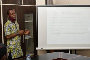 Inyene Ibanga of Tech Digest at IMPR Retreat