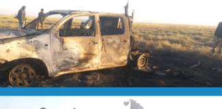 Nigerian Troops destroy Boko Haram Guntrucks in Rann