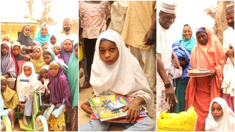 Penlight Centre Offers Scholarship, Orthopaedic Medical to Disabled School Girl, Fatimah Yushau
