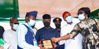 NAF Student award winner