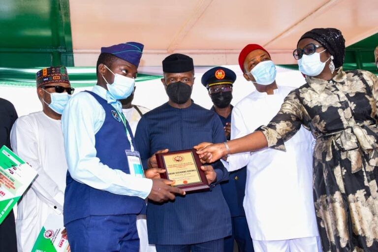 NAF Student Bags Presidential Award for Young Nigerian Scientist