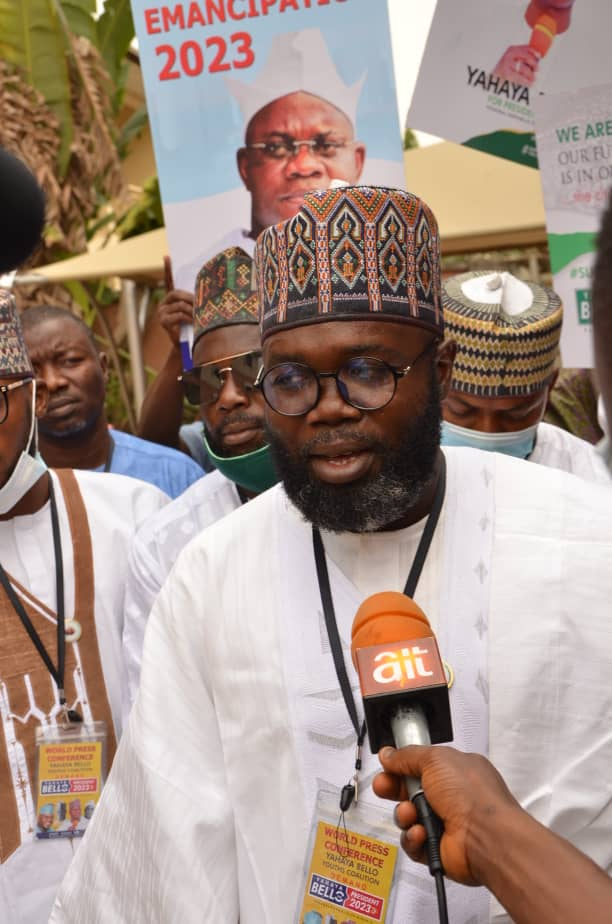 Again, Youth Coalition Campaigns for Gov Yahaya Bello for President in 2023