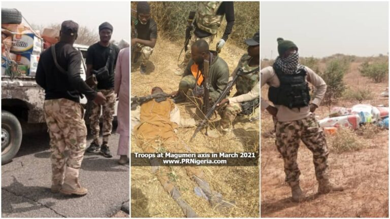Troops Eliminate Terrorists on Looting Spree, Burst Boko Haram Tax Collectors