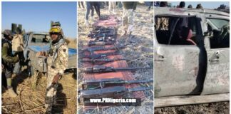 Nigerian Troops attack Terrorists at Chikingudu in Marte axis March 2021
