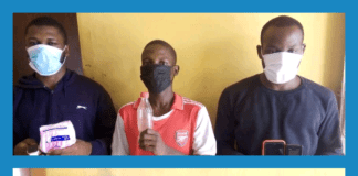 Abuja kidnappers paraded