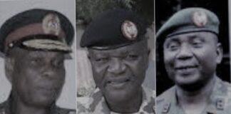 Generals Ahonatu, Yusuf and Sharham