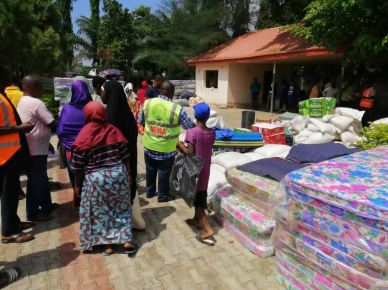 NEMA Provides Relief Materials to 30,000 IDPs in Taraba
