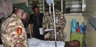 Army Chief Gen Yahaya Visits Troops