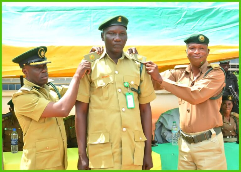 NCoS Decorates 137 Newly Promoted Officers in Kwara