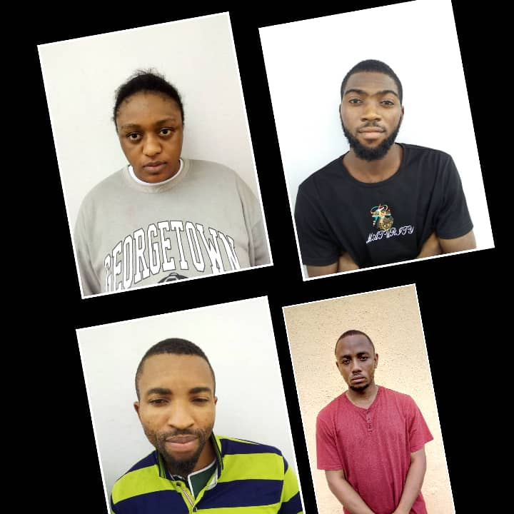 Lady, Three Others Convicted for Over $2000 Internet Fraud in Uyo